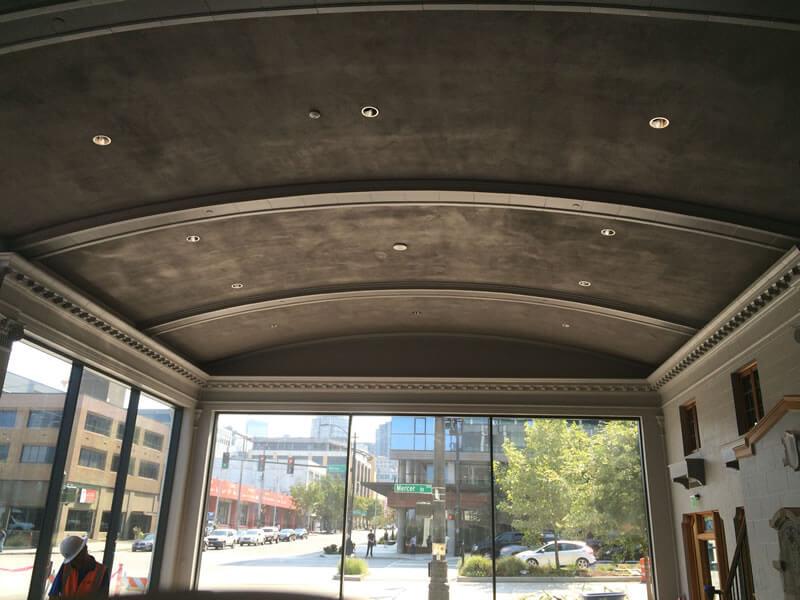 Seattle Restaurant – New Ornamental Plaster