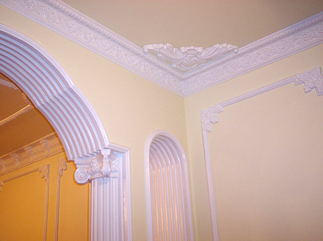 Cornices and decorative work
